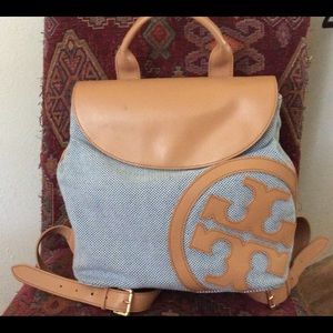 💯 Tory Burch Ronnie Backpack 🎒 EUC Very Stylish
